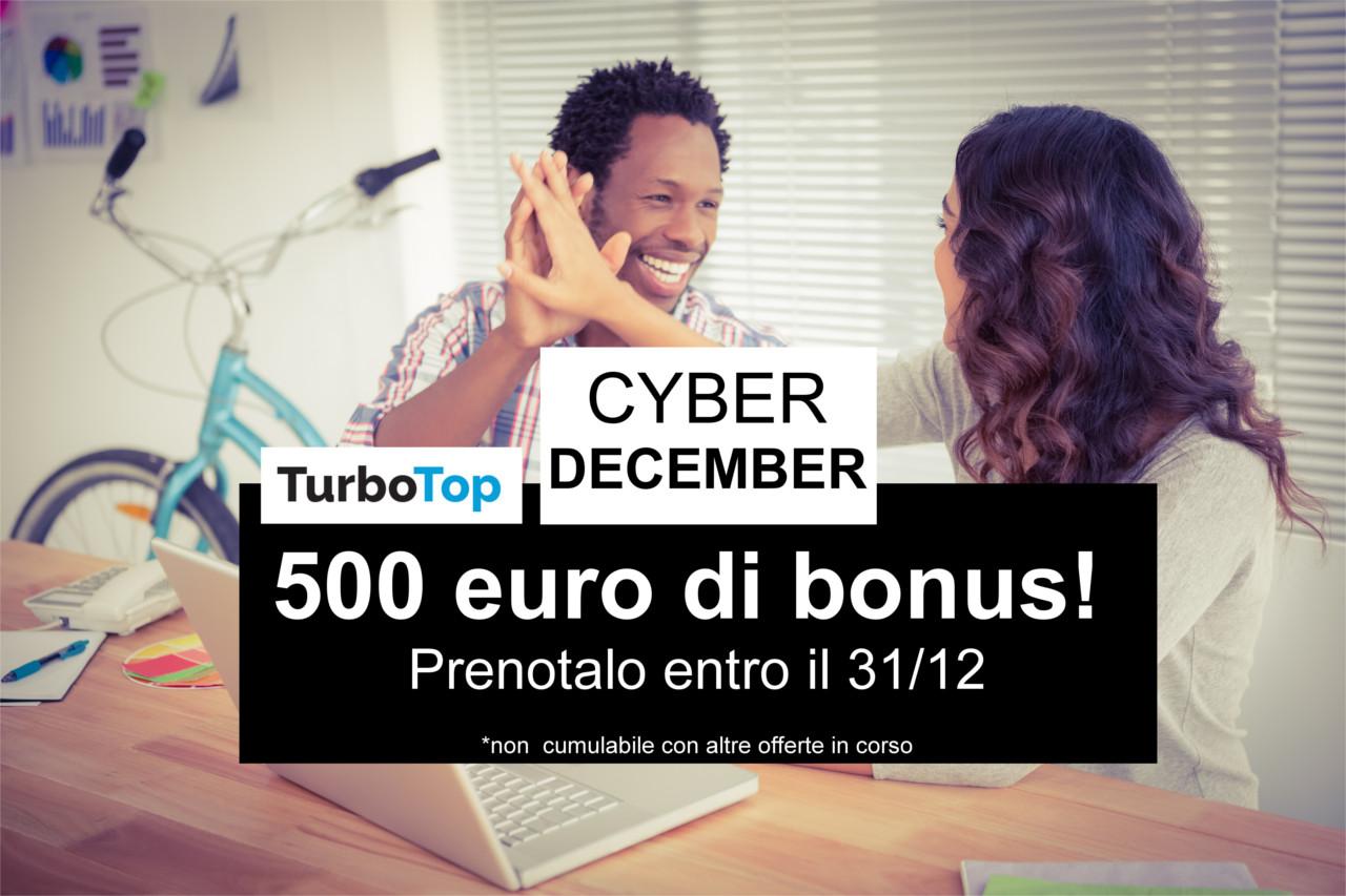 Cyber december bonus software ERP, prenotalo!